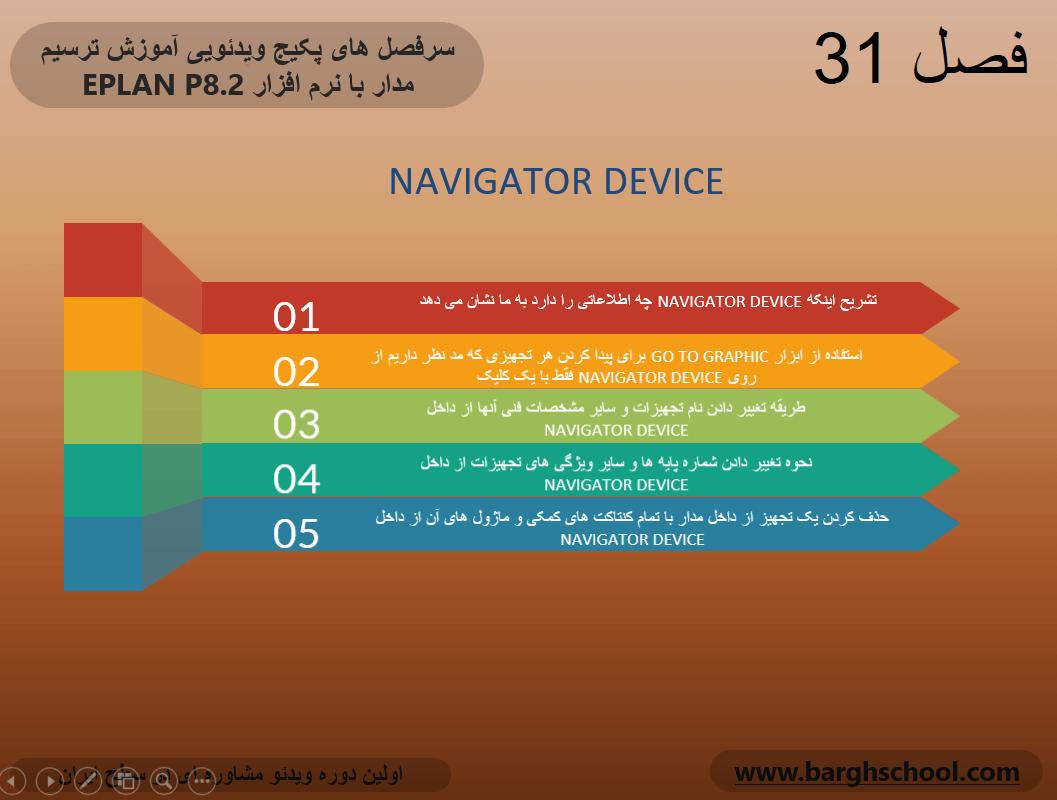 قابلیت navigator device