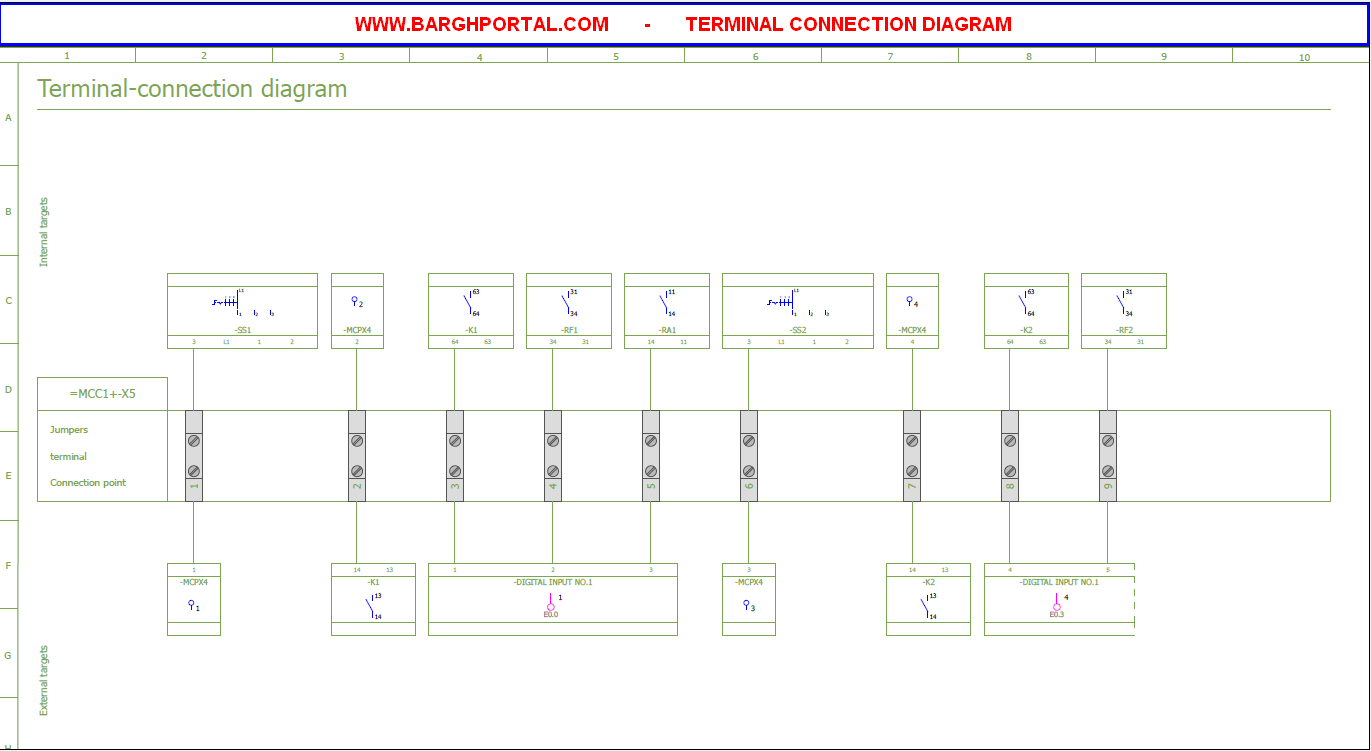 TERMINAL-CONNECTION-DIAGRAM eplan2