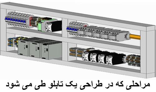 طراحی تابلو برق صنعتی