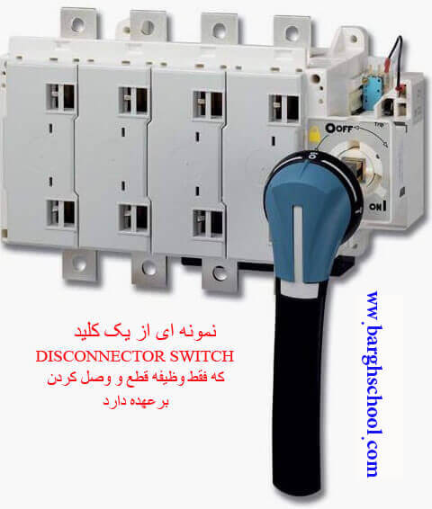 کلید DISCONNECTOR-SWITCH