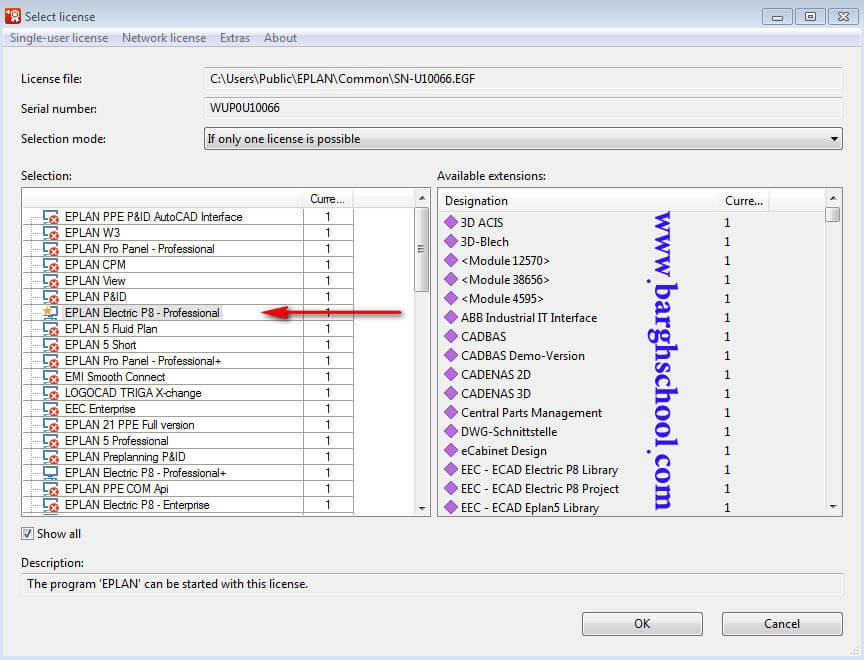 روش نصب eplan روی ویندوز 7